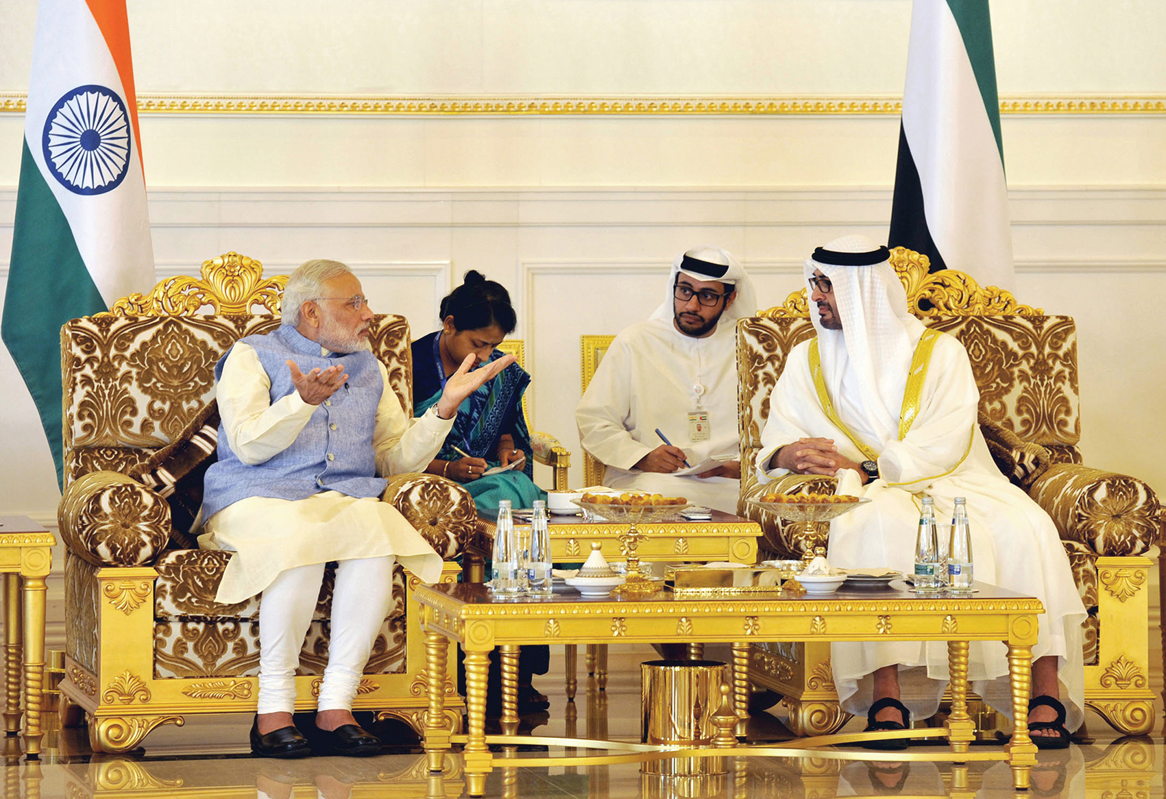 Inda, UAE, Narendra Modi, Indian PM,