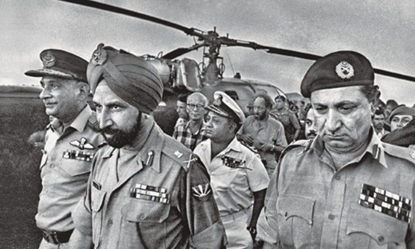 East Pakistan, India, Pakistan, Bangladesh